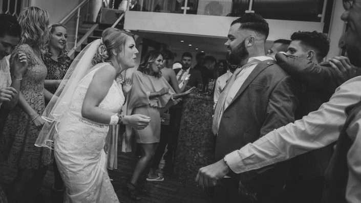 People dancing to a Wedding DJ in Essex