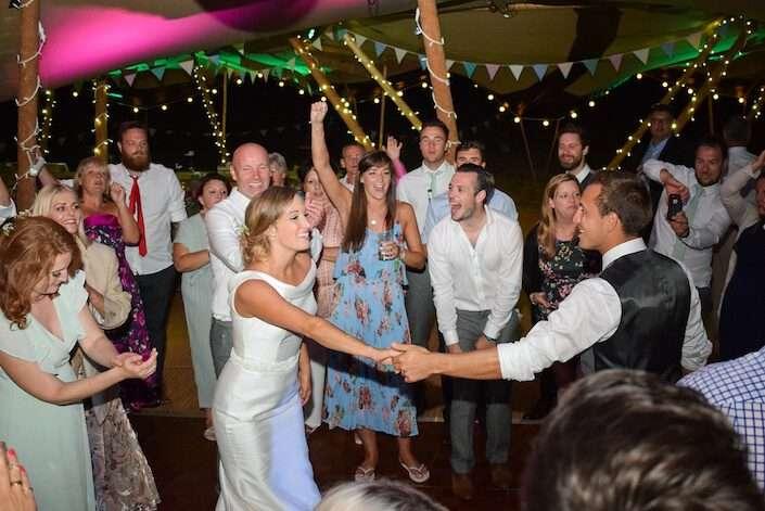 DJ for a Tipi Wedding